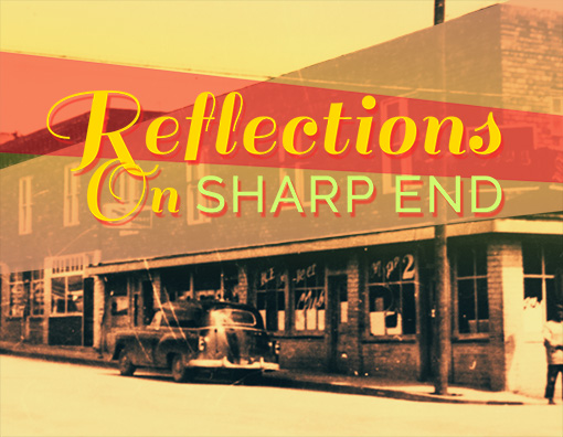 Reflections on Sharp End – Motion