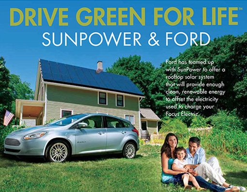 SunPower Ford – Poster and Cling
