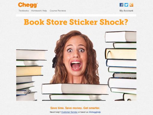 Chegg – Emailer